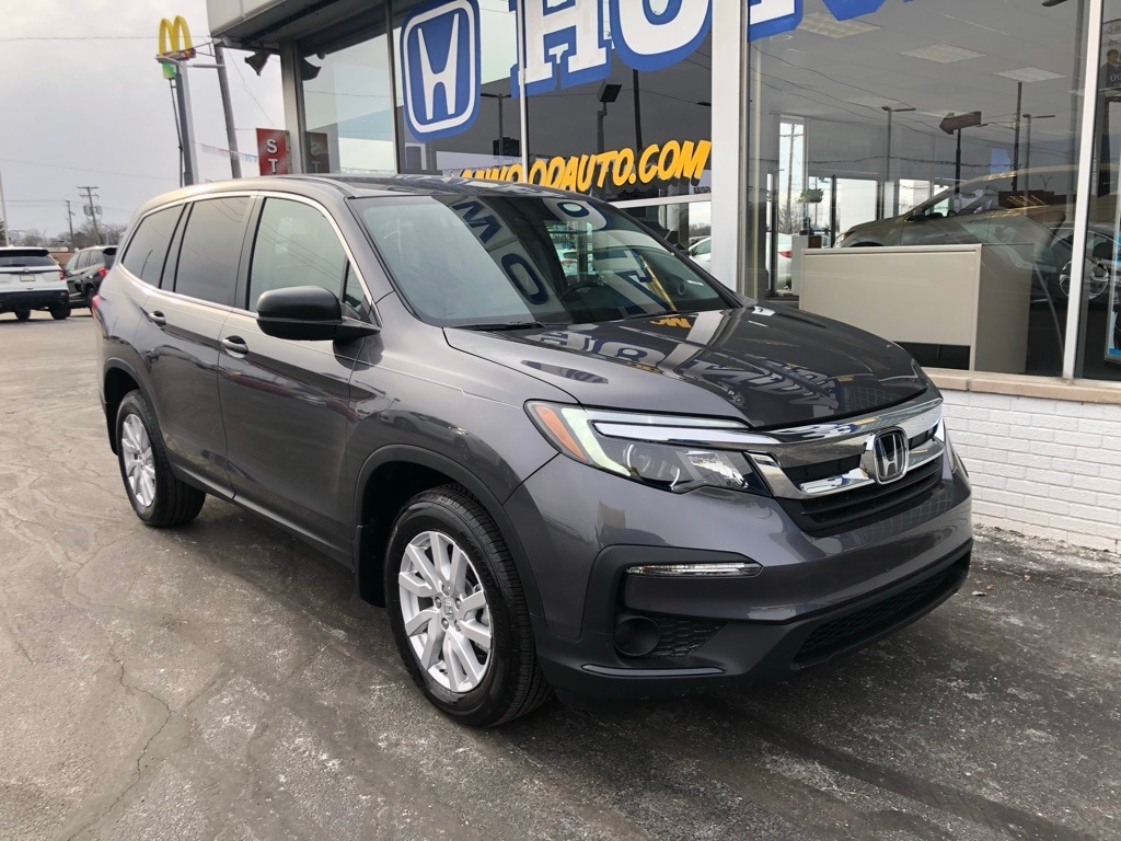 Featured New 2019 Honda Pilot LX AWD SUV for sale in Port Huron, MI