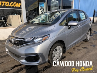 New 2019 Honda Fit LX Hatchback 3HGGK5H41KM741871 in Port Huron, MI
