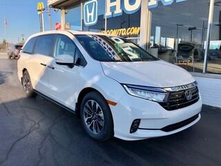 New 2021 Honda Odyssey EX-L Van 5FNRL6H74MB026157 in Port Huron, MI