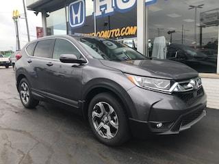 New 2019 Honda CR-V EX AWD SUV 5J6RW2H53KA009607 in Port Huron, MI