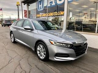 New 2020 Honda Accord LX 1.5T Sedan 1HGCV1F11LA150168 in Port Huron, MI