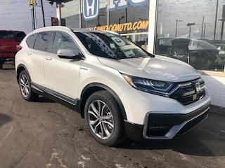 New 2021 Honda CR-V Hybrid Touring SUV 7FART6H92ME002753 in Port Huron, MI