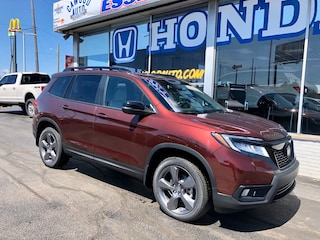 New 2020 Honda Passport Touring AWD SUV 5FNYF8H93LB010370 in Port Huron, MI