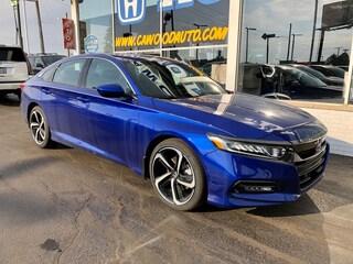New 2020 Honda Accord Sport 1.5T Sedan 1HGCV1F34LA027594 in Port Huron, MI