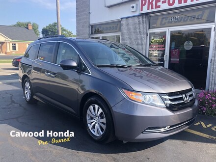 Featured Used 2016 Honda Odyssey EX-L Minivan/Van for sale in Port Huron, MI