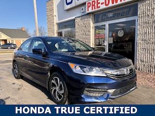 Used 2016 Honda Accord LX Sedan HL042A in Port Huron, MI