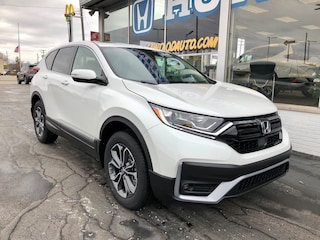New 2021 Honda CR-V EX-L AWD SUV 2HKRW2H89MH607986 in Port Huron, MI