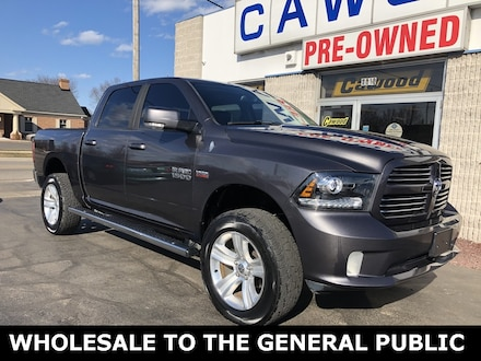 Featured Used 2014 Ram 1500 Sport Truck for sale in Port Huron, MI