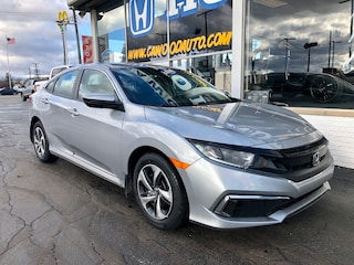 New 2020 Honda Civic LX Sedan 2HGFC2F6XLH502086 in Port Huron, MI