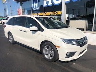 New 2019 Honda Odyssey EX-L Van 5FNRL6H7XKB096775 in Port Huron, MI