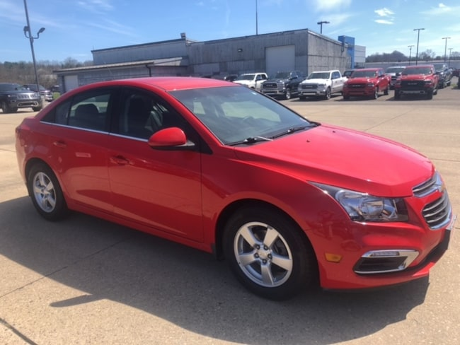 Used 2016 Chevrolet Cruze Limited L Sedan For Sale in Marietta, OH