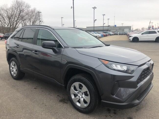 New 2020 Toyota RAV4 LE SUV For Sale in Marietta, OH
