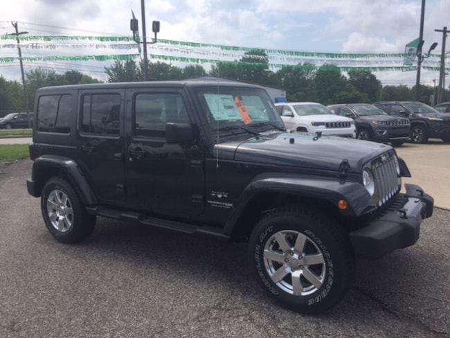 New 2018 Jeep Wrangler Unlimited Sahara 4x4 SUV for sale or lease in Marietta, OH