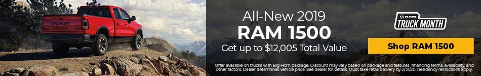 New 2019 RAM 1500 | Truck Month Savings