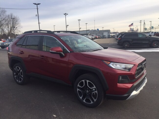 New 2019 Toyota RAV4 Adventure SUV in Marietta, OH
