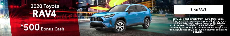New 2020 Toyota RAV4 | Toyota Cash