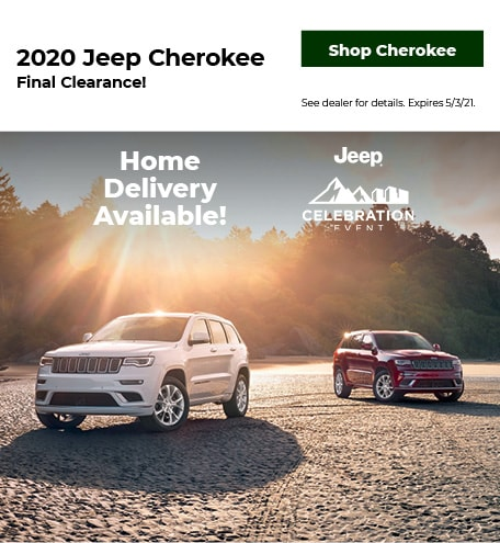 2020 Jeep Cherokee   Final Clearance