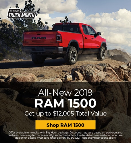 New 2019 RAM 1500 | Truck Month Savings