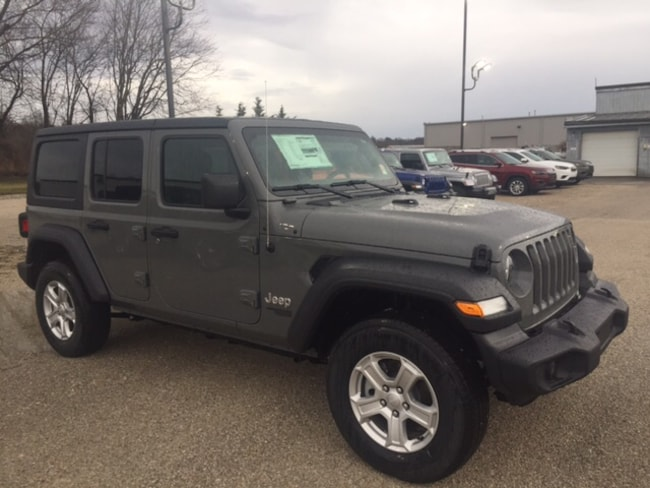 New 2019 Jeep Wrangler Sport 4x4 SUV for sale or lease in Marietta, OH
