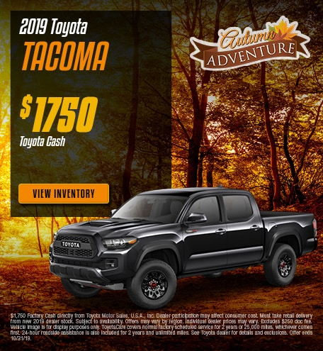 New 2019 Toyota Tacoma | Cash Back