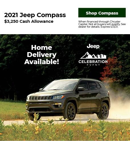 New 2021 Jeep Compass   Cash Allowance