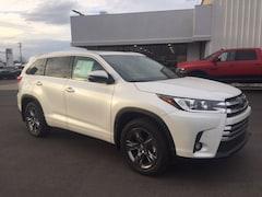 new 2019 Toyota Highlander Limited Platinum V6 SUV for sale in Marietta OH