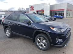 new 2020 Toyota RAV4 Hybrid Limited SUV for sale in Marietta OH