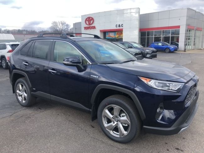 New 2020 Toyota RAV4 Hybrid Limited SUV For Sale in Marietta, OH