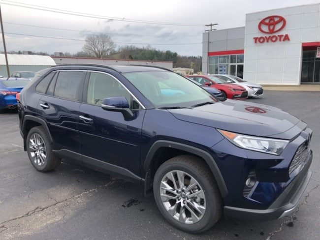 New 2020 Toyota RAV4 Limited SUV For Sale in Marietta, OH