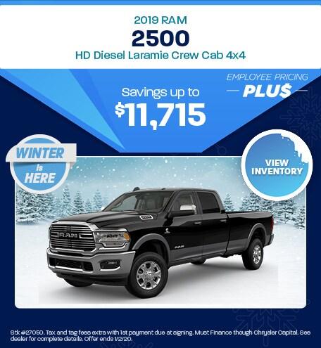 New 2019 RAM 2500 | Savings