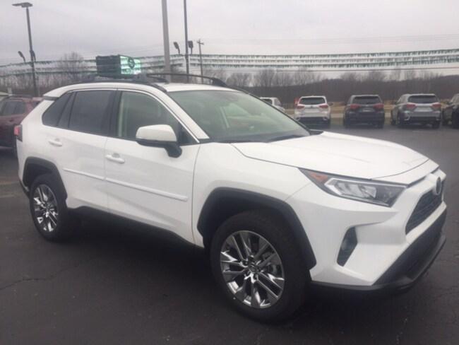 New 2019 Toyota RAV4 XLE Premium SUV in Marietta, OH