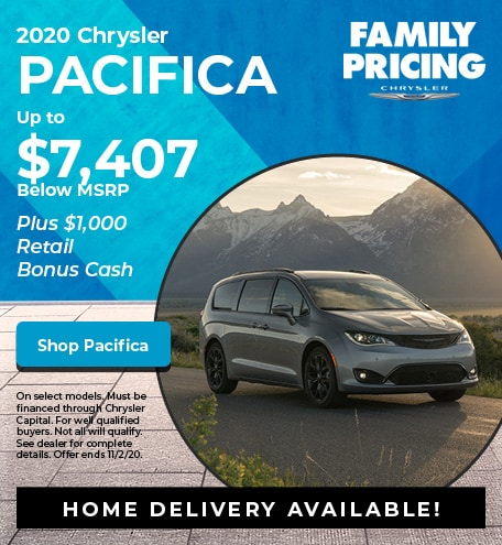 New 2020 Chrysler Pacifica | Family Pricing