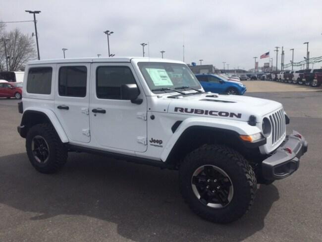 New 2019 Jeep Wrangler Rubicon 4x4 SUV for sale or lease in Marietta, OH