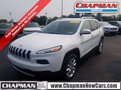 Used 2017 Jeep Cherokee Limited SUV for sale  in Horsham, PA