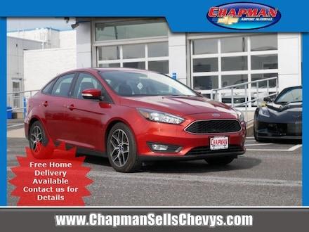 2018 Ford Focus SEL 4dr Car