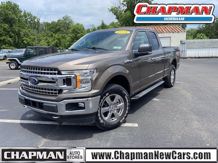 2018 Ford F-150 4WD SUPERCAB Truck SuperCab Styleside