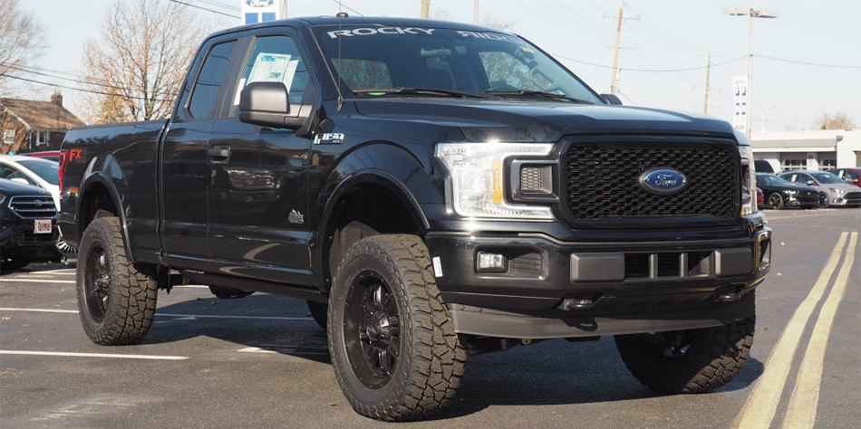 New Ford Trucks >> Lifted Ford Trucks Rocky Ridge Custom Lifts F 150 Super Duty More