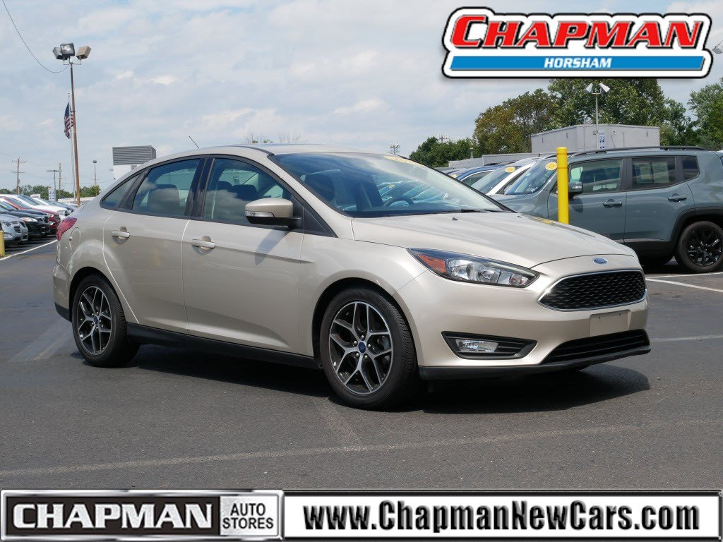 2018 Ford Focus SEL 4dr Car