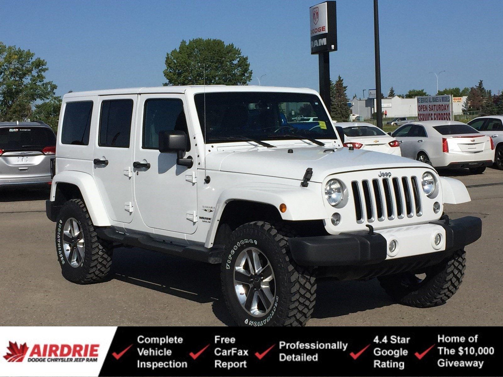 2016 Jeep Wrangler Unlimited Sahara 4WD  Sahara