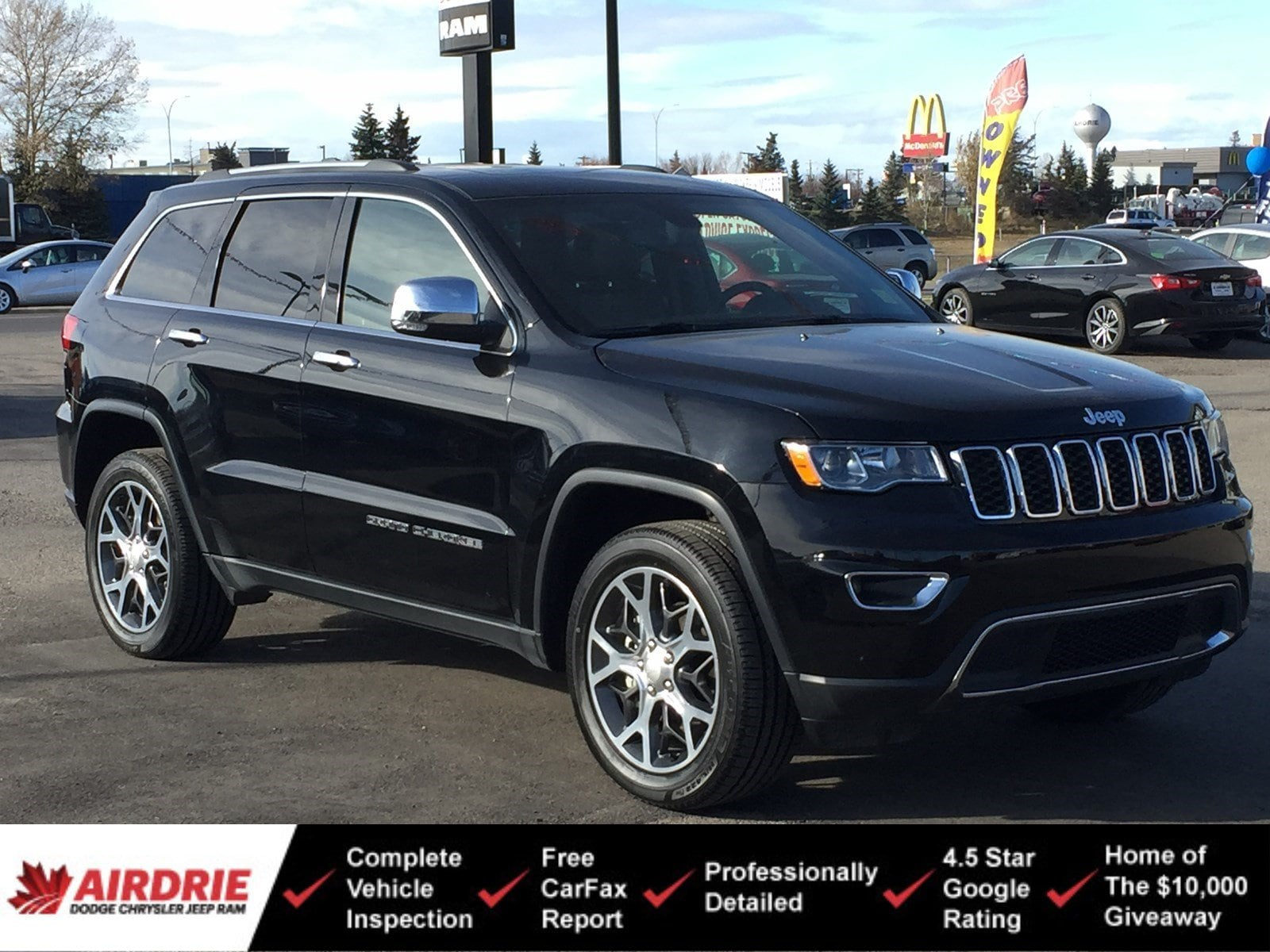 2019 Jeep Grand Cherokee Limited 4x4 - Low KMs! New Tires! Limited 4x4