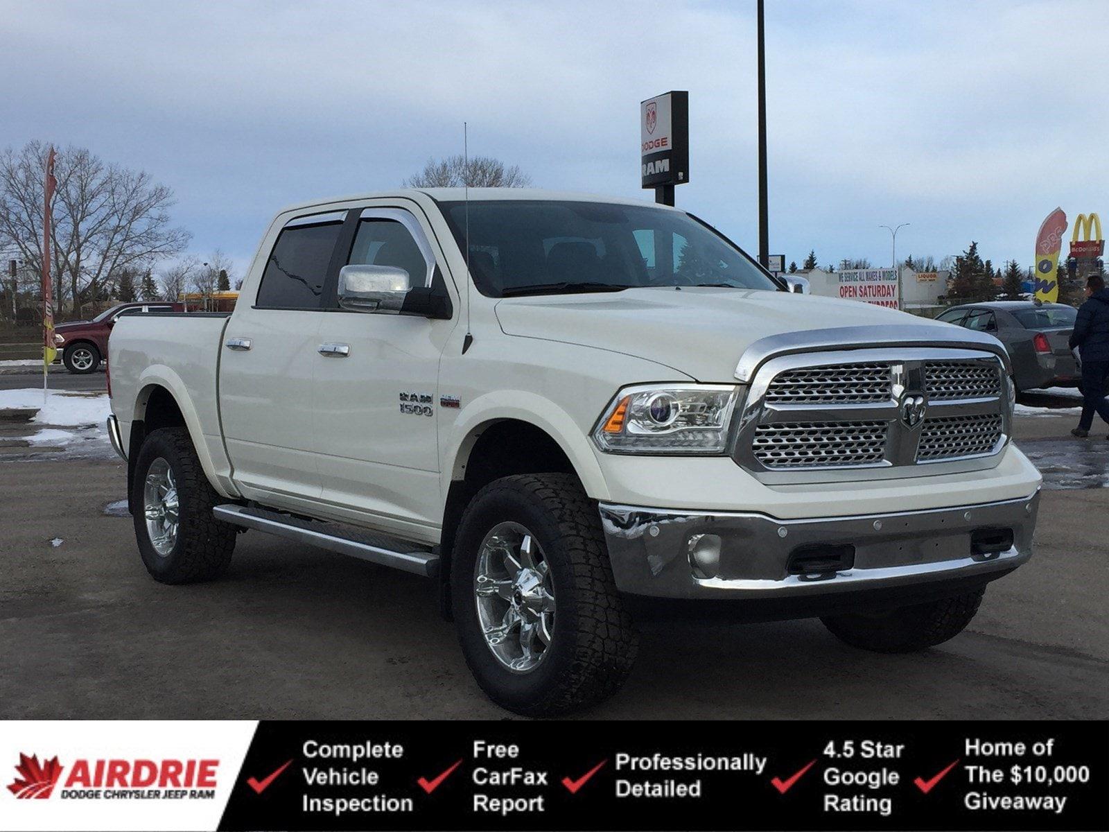 2017 Ram 1500 Laramie - Lifted! Fuel Rims & A/T Tires! 4WD Crew Cab 140.5 Laramie