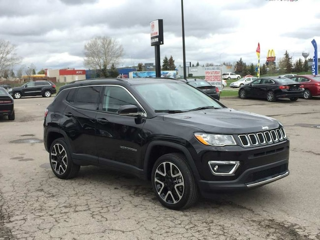 2018 Jeep Compass Limited 4x4 - Loaded! Nav! Sunroof! SUV