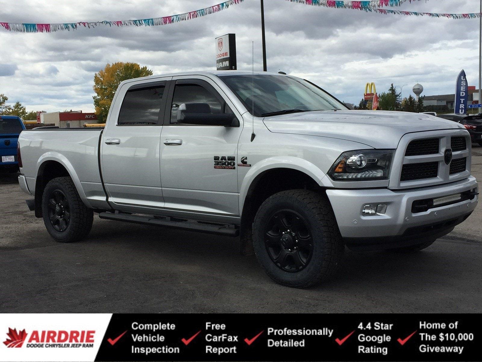 2016 Ram 3500 Laramie Sport Pkg - New Tires! Rare! 4WD Crew Cab 149 Laramie