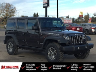 2017 Jeep Wrangler Unlimited Rubicon 4x4 - New Tires! Great Shape! 4WD  Rubicon