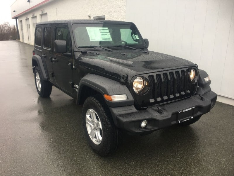 2018 Jeep All-New Wrangler Unlimited Sport S SUV