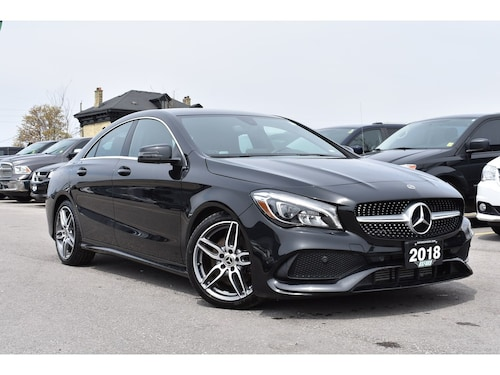 2018 Mercedes-Benz CLA 250 Sedan
