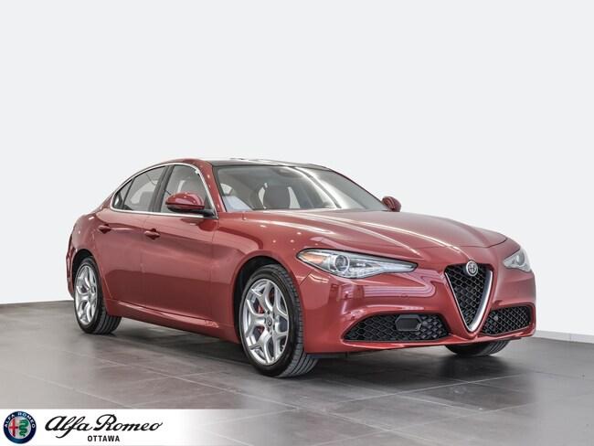 2018 Alfa Romeo Giulia Ti Sedan