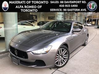 Used 2017 Maserati Ghibli SQ4:1.9% APR Winters+Rims, ONE Owner, LOW KM Sedan for sale in Toronto, Ontario