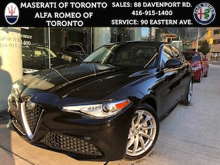 New 2017 Alfa Romeo Giulia Demo: LOW KMS, Pano Roof, XM Radio, 8.8 Display Sedan ZARFAEDN0H7534019 for sale or lease in Toronto, Ontario