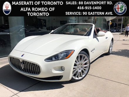 Used 2013 Maserati Granturismo Sport: LOW KM, Showroom Condition, NEW Tires Convertible near Brampton, ON